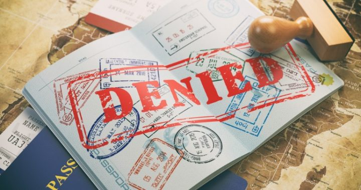 Denied entry to us