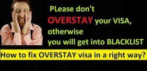 Overstayed Visa