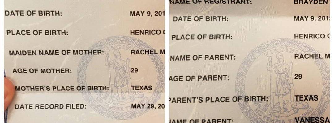 Order Birth Certificate Online
