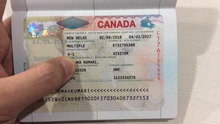 Canada  Visitor Visa